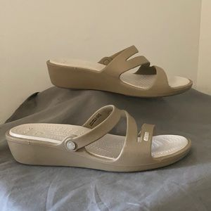 """""""Patricia"""" Crocs Sandals"""